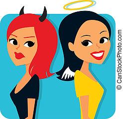 хорошо, girls, зло