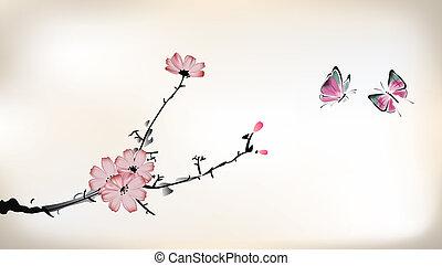 цвести, картина