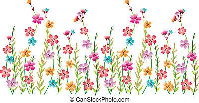 цветок, граница, фантазия