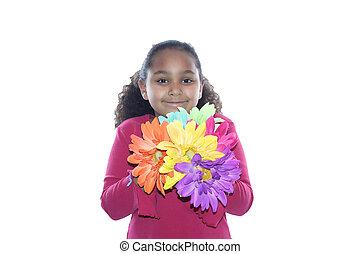 цветок, мощность