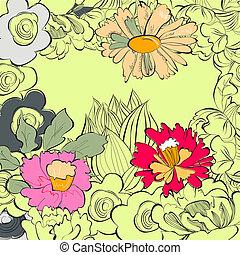 цветочный, карта