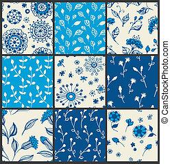 цветочный, patterns