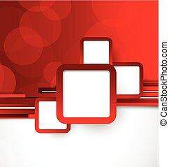цвет, абстрактные, задний план, красный
