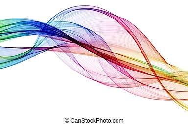 цвет, абстрактные, состав