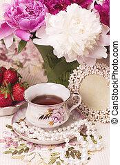 чайная чашка, марочный, pi-meson, весна
