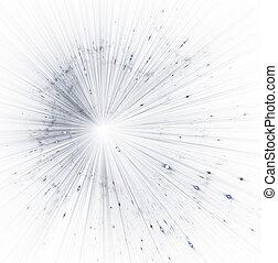 частицы, звезда, background., lines., bokeh, блеск, большой, иллюстрация, взрыв, магия, sparkles., время, space., бах, путешествие, красивая, абстрактные, деформироваться