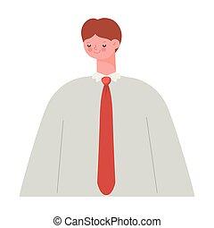 человек, галстук