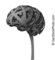 человек, слабоумие, головной мозг