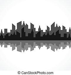 черный, абстрактные, дизайн, здание