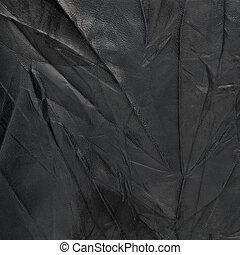 черный, кожа