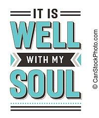 что ж, мой, это, душа