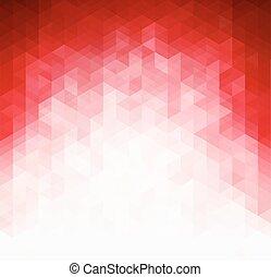 шаблон, задний план, абстрактные, красный, легкий