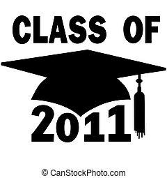школа, кепка, градация, высокая, колледж, 2011, класс