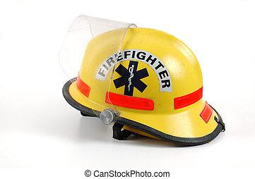 шлем, огонь