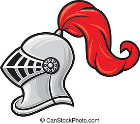 шлем, рыцарь, средневековый