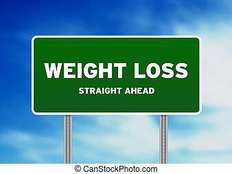 шоссе, вес, знак, потеря
