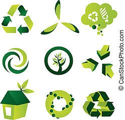 экологическая, elements, дизайн