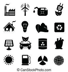 экология, задавать, значок