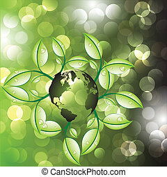 экология, задний план