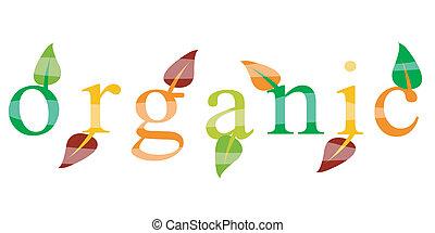 экология, органический, значок