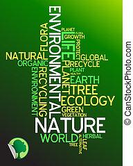экология, экологическая, -, плакат