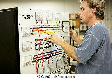 электроника, обучение