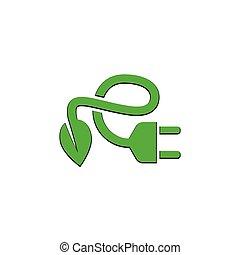энергия, зеленый