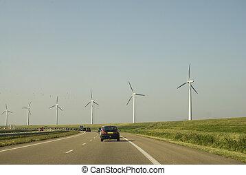 энергия, полный, шоссе