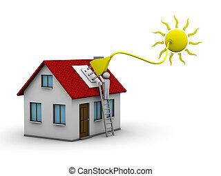 энергия, солнечный