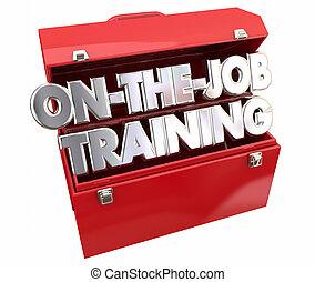 ящик для инструментов, работа, подмастерье, learning, обучение, карьера, инструменты
