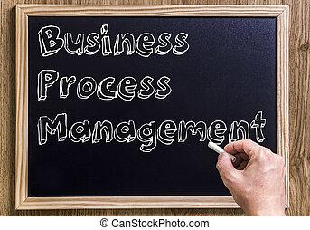 -, bpm, обработать, новый, outlined, 3d, управление, бизнес, классной доски, текст