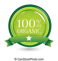100%, органический