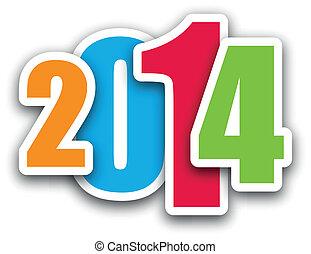 2014, задний план