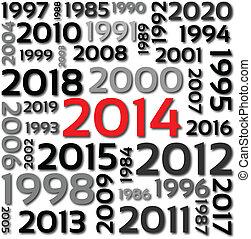 2014, задний план, -