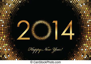 2014, счастливый, новый, год
