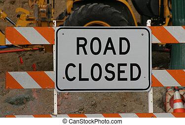 3, дорога, закрыто