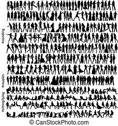 320, мода, silhouettes