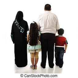 4, арабский, семья, isolated, members