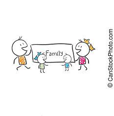 4, семья