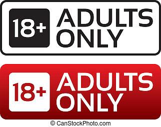 adults, возраст, button., stamp., содержание, только, предел