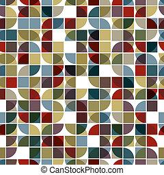 background., бесшовный, мозаика, абстрактные