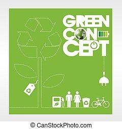 background., экология, концепция