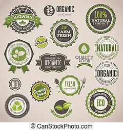 badges, задавать, органический, labels