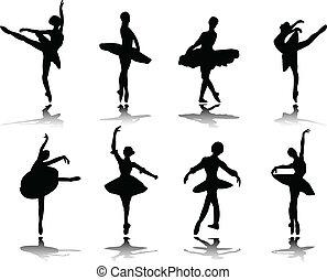 ballerinas, отражение