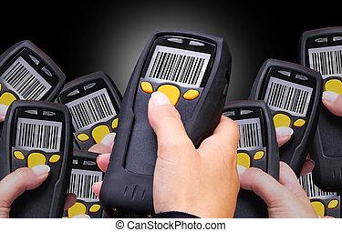 barcode, сканер