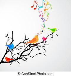 birds, пение