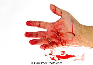 blood., убийство, weapon., crime., нож