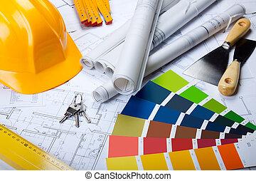 blueprints, инструменты, архитектура