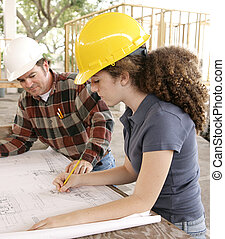 blueprints, маркировка, студент, инжиниринг