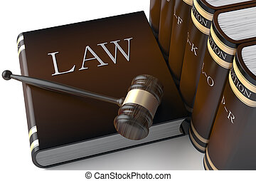 books, закон, ряд, кожа